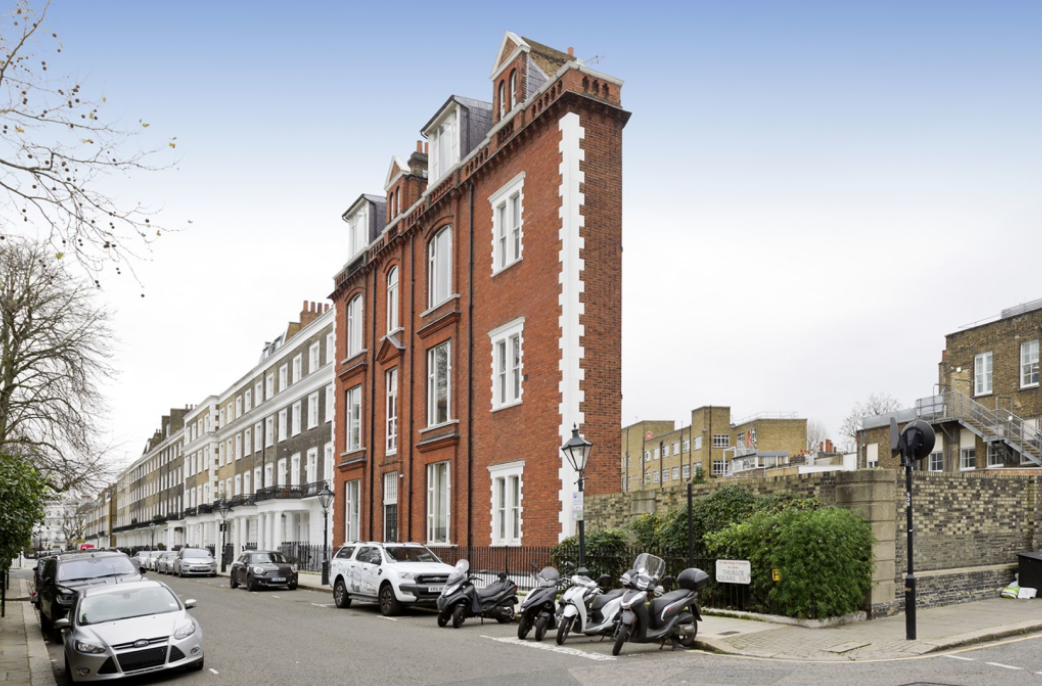 A stunning home in one of London's most sought-after postcodes has gone on the market - but those with plenty of possessions may want to skip a viewing